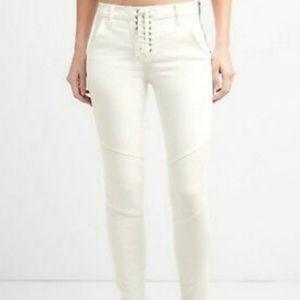 Gap white jeans size 27 true skinny